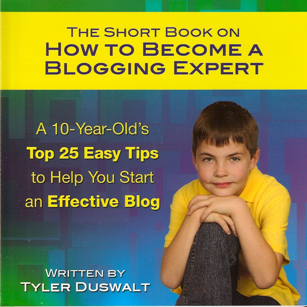 Business blogging is easy with these tips from a 10-year-old