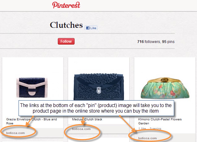 How product buying starts in Pinterest