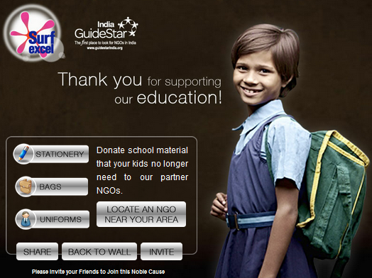 Surf Excel India's Back to School Campaign