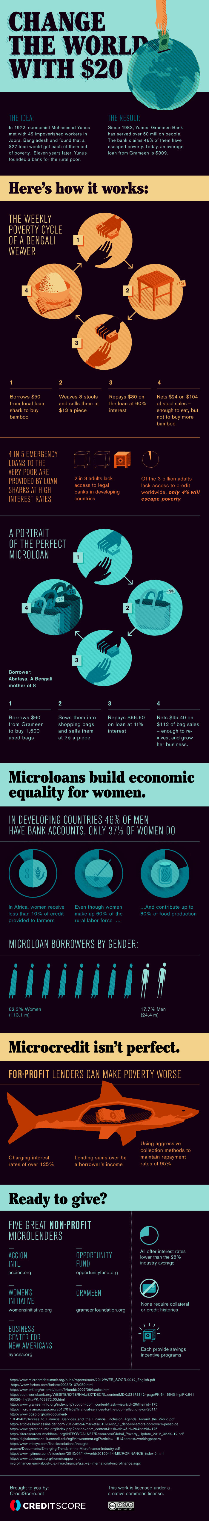 Microlending Infographic