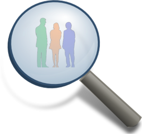 Magnifying Glass Focusing on the Buyer