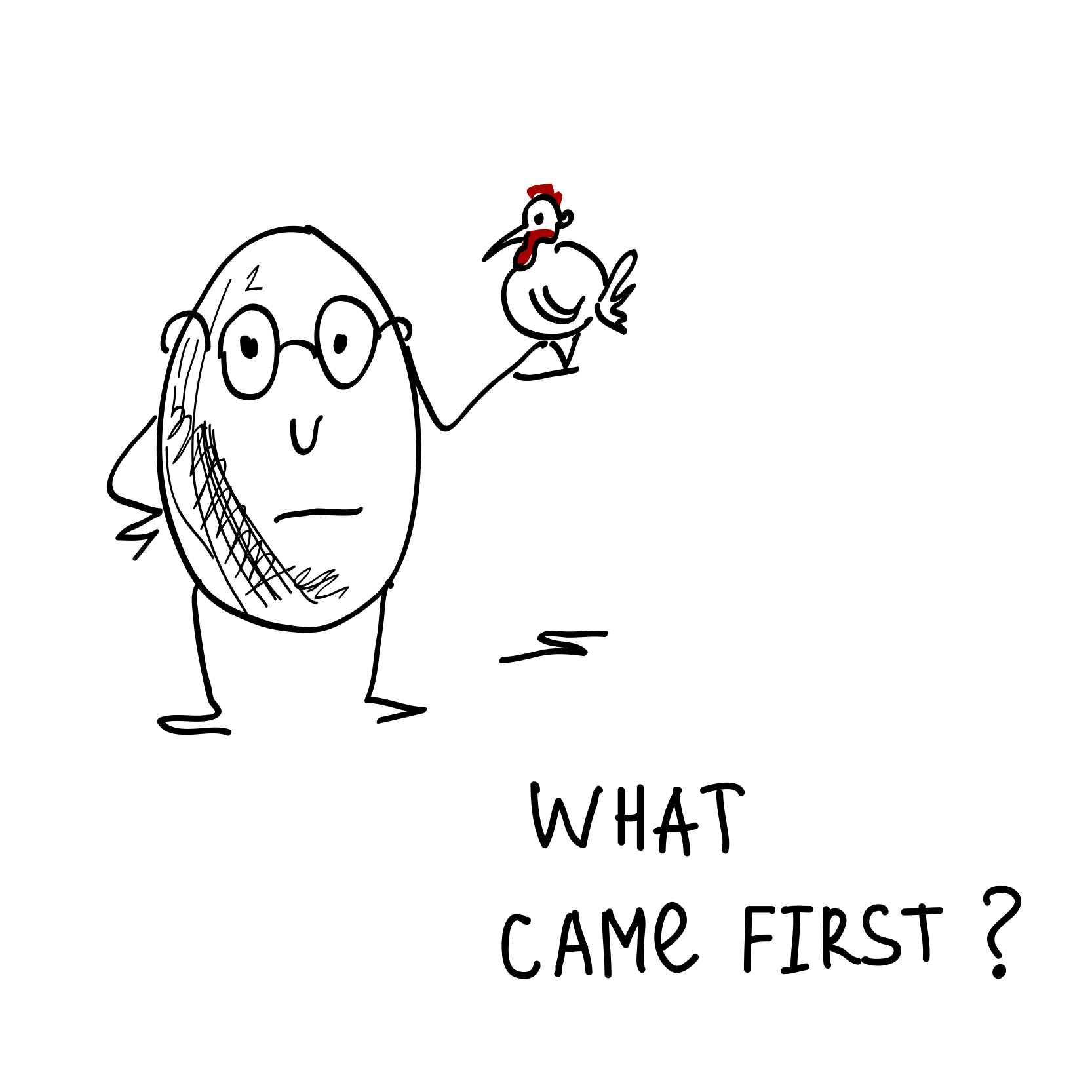 what came first