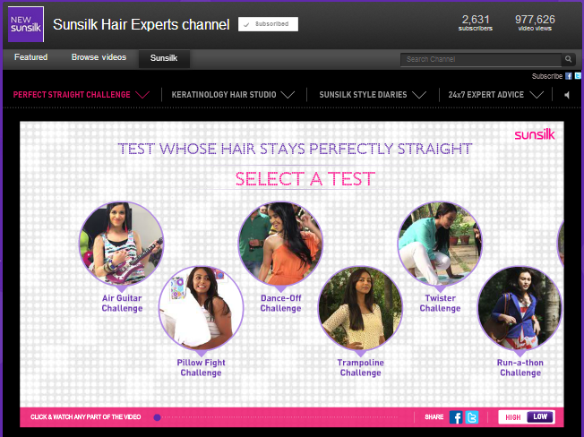 Sunsilk_hair_experts_Youtube_channel