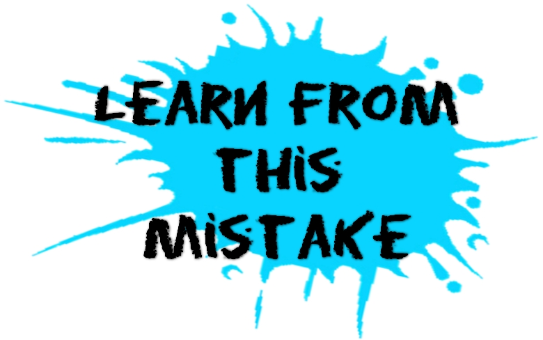 more blogging mistakes