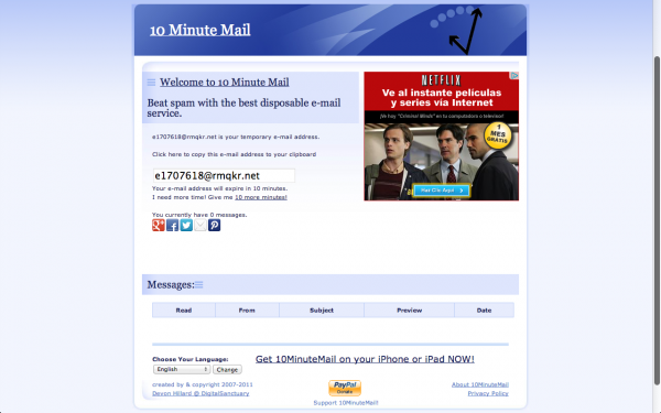 8 Great Email Apps For Business & Leisure - Mevvy.com - 10 Minute Mail