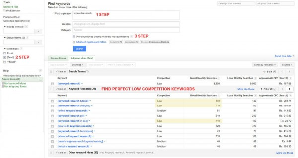 How to rank articles with keyword research
