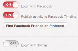 Linking Pinterest and Facebook
