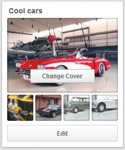 Pinterest tips - change cover photos