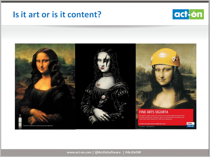 ART OR CONTENT?