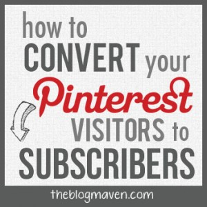Get Email Subscribers from Pinterest