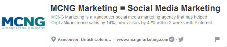 MCNG Marketing on Pinterest