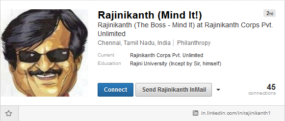 Rajinikanth_LinkedIn_Profile