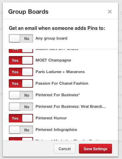 Set your group board settings to monitor your pins and spams.png