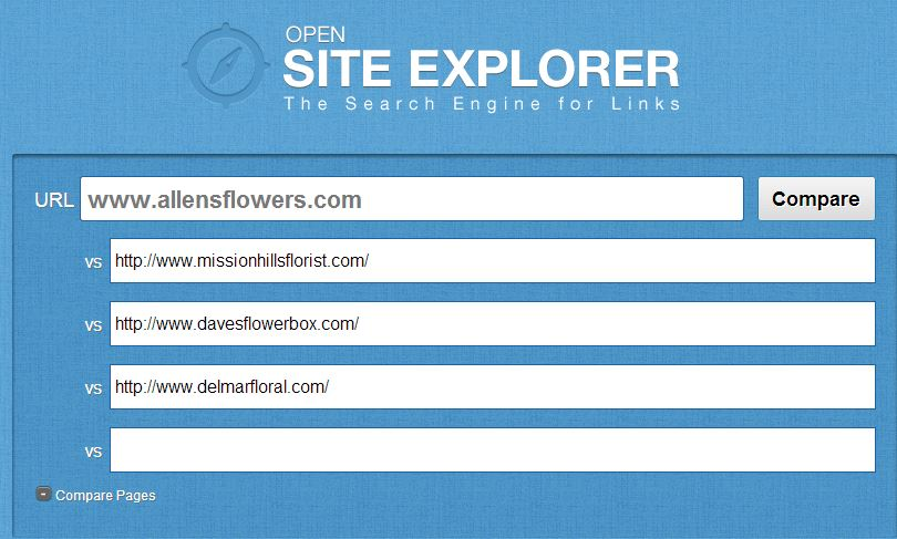 SEO Competitive Analysis with Open Site Explorer