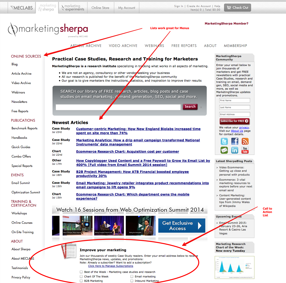 Marketing Research: Articles, Reports and Case Studies   MarketingSherpa 2014-07-23 22-36-50 2014-07-23 22-38-24