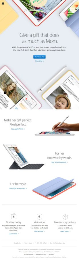 mothers day email template_ apple