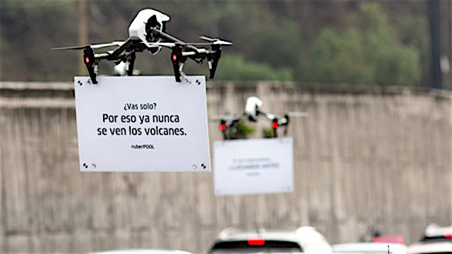 uber drones mexico global expansion